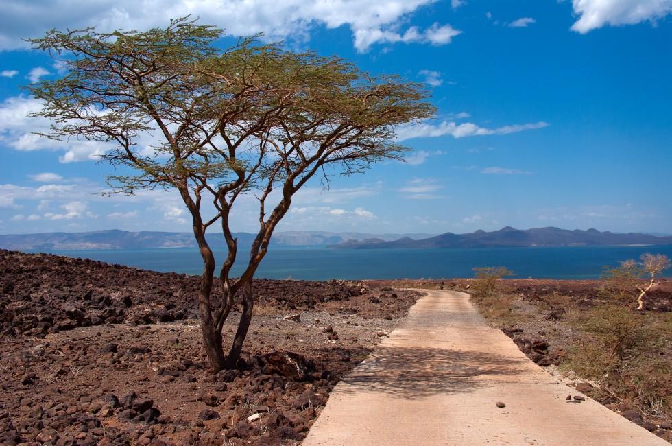 Road, Lake Turkana, Kenya
