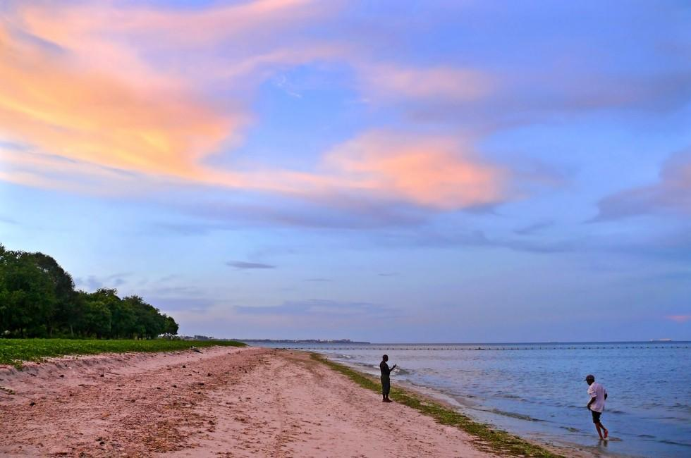 Sunset, Coast, Dar es Salaam, Tanzania