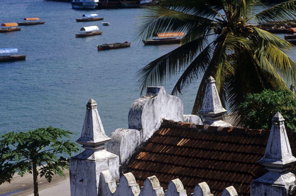 Coast, Stone Town, Zanzibar, Tanzania