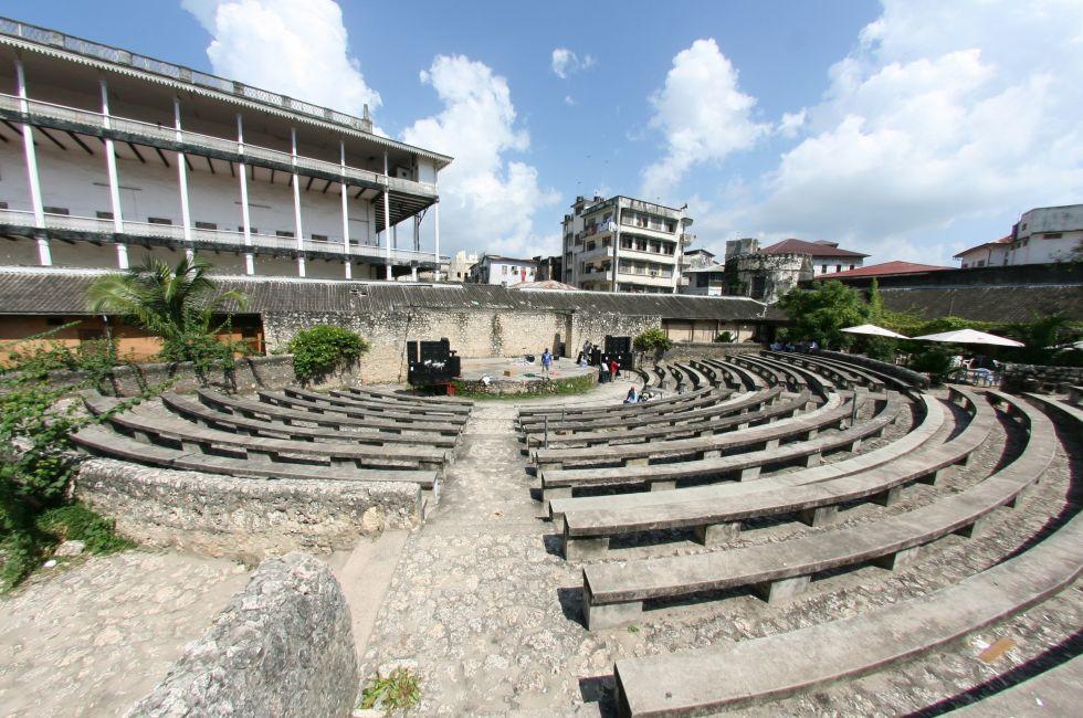 Theatre, Stone Town, Zanzibar, Tanzania