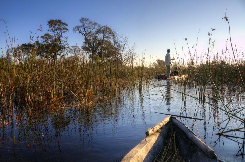 Boat, The Okavango Delta, Botswana