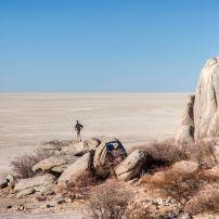Traveler, The Makgadikgadi Pans, Botswana