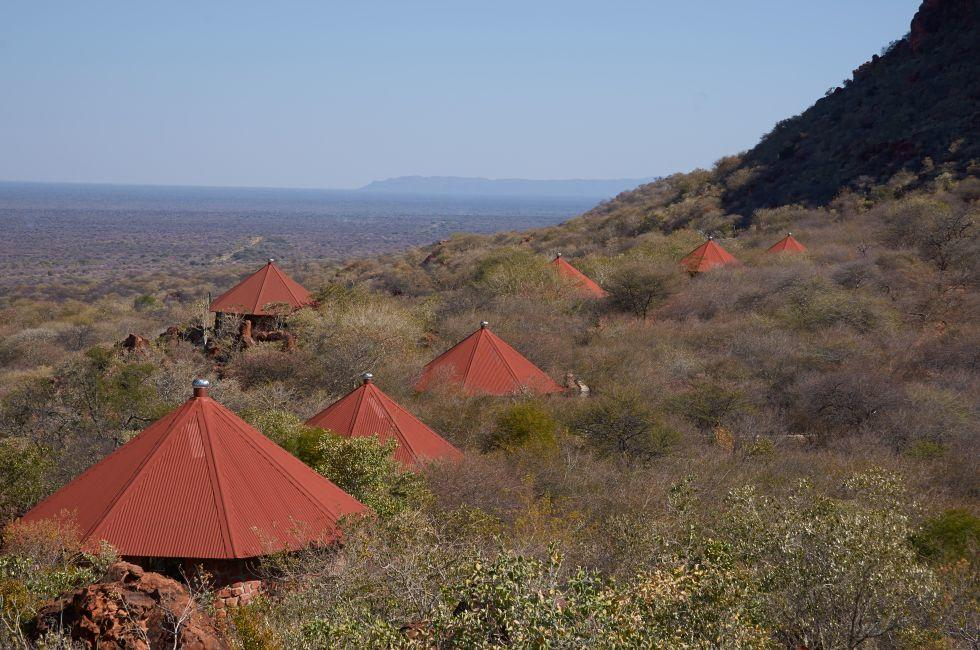 Roofs, Waterberg Plateau Lodge, Waterberg, Namibia