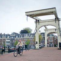 Bridge, Magere Brug, Amsterdam, Holland