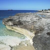 Beach, Coastline, Freeport Harbor, Grand Bahama, The Bahamas