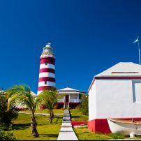 Lighthouse, Elbow Cay, Abacos, The Bahamas, Caribbean