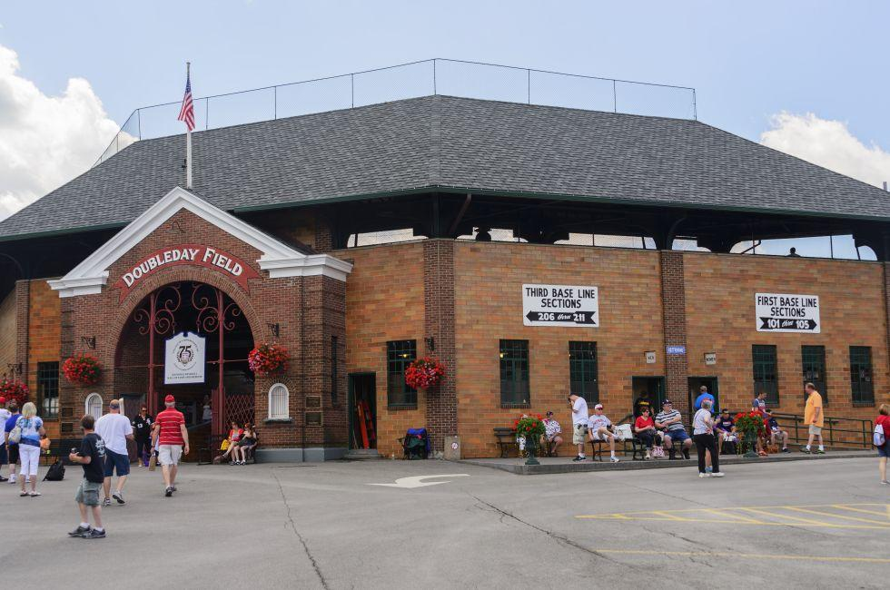 Baseball Hall of Fame, Cooperstown, New York