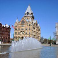 Fountain, Syracuse Savings Bank, Clinton Square, Syracuse, New York
