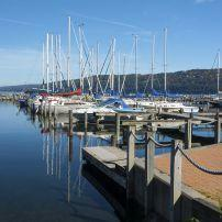 Boats, Marina, Seneca Lake, Watkins Glen, New York