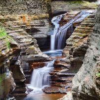Waterfall, Watkins Glen State Park, New York