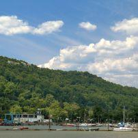 Boats, Docks, Flywheel Park, Piermont, The Hudson Valley, New York, USA