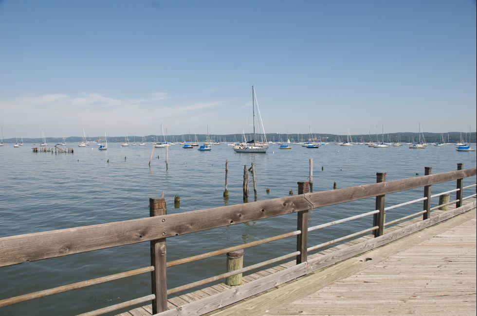 Boats, Marina, Nyack, The Hudson Valley, New York, USA