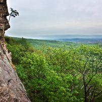 Cliff, Overlook, The Gunks, New Paltz, The Hudson Valley, New York, USA