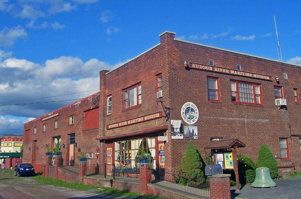 Hudson River Maritime Museum, Kingston, The Hudson Valley, New York, USA