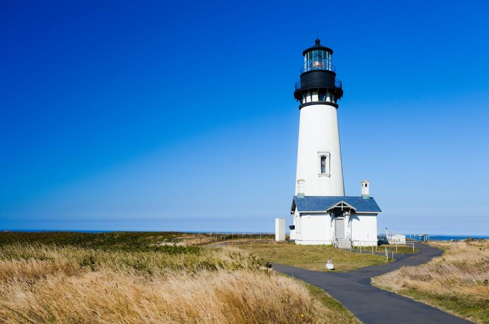 Yaquina Head Light, Newport, Oregon, USA