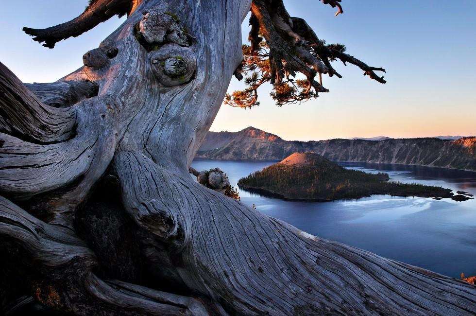 Crater Lake, Crater Lake National Park, Oregon, USA