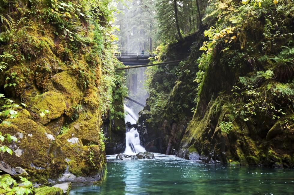 Sol Duc Falls, Olympic National Park, Washington, USA