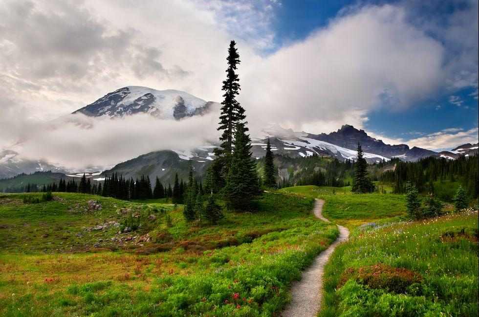 Mt Rainier, Washington, USA