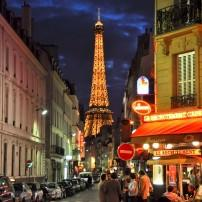 Cafe, Around the Eiffel Tower, Paris, France