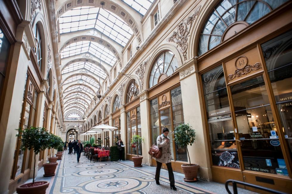 Galerie Vivienne, Les Grands Boulevards, Paris, France