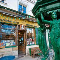 The Shakespeare and Co. Bookstore, Paris, France
