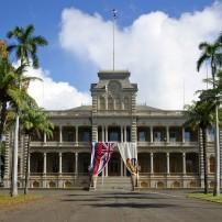 Iolani Palace, Honolulu and Oahu, Honolulu, Hawaii, USA