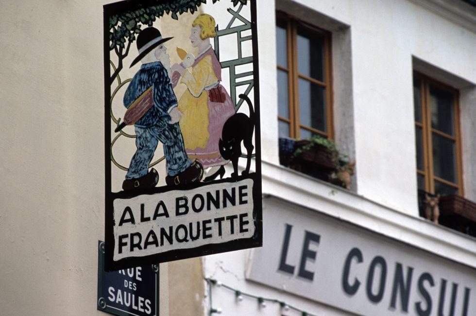 Rue des Saules, Montmartre, France