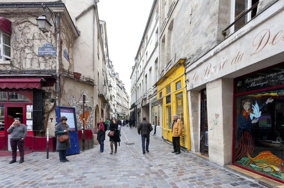 Jewish quarter, The Marais, Paris, france