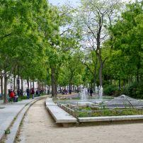 City Park, Eastern Paris, France