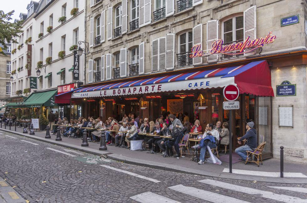 Cafe, The Latin Quarter, Paris, France