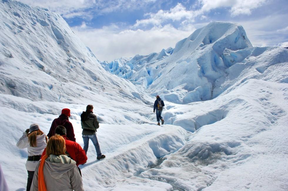 Perito Moreno Glacier, Los Glaciares National Park, Patagonia, Argenita