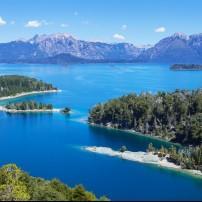 Victoria Island, Lake Nahuel Huapi, The Lake District, Argentina