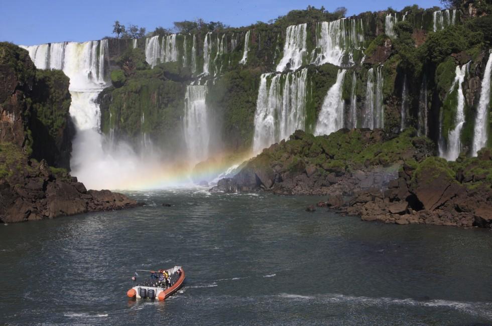 Boat, Iguazu Falls, Argentina
