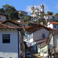 Neighborhood, Hill, Ouro Preto, Minas Gerais, Brazil