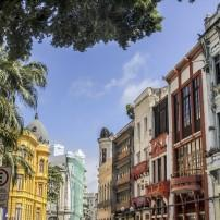 Buildings, Old Town, Recife, Pernambuco, The Northeast, Brazil