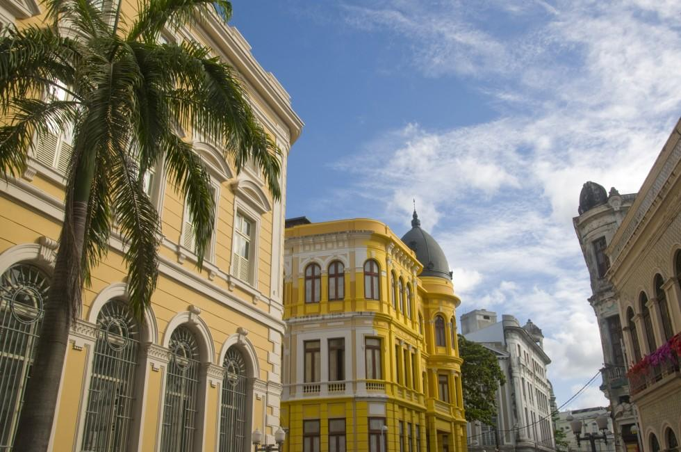 Buildings, Downtown, Recife, Pernambuco, The Northeast, Brazil