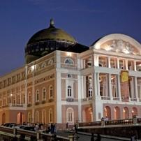 Opera House, Amazon Theatre, Manaus, The Amazon, Brazil