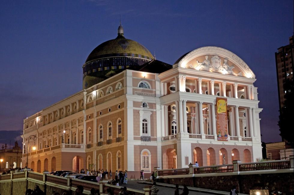 Opera House, Amazon Theatre, Manaus, The Amazon, Brazil