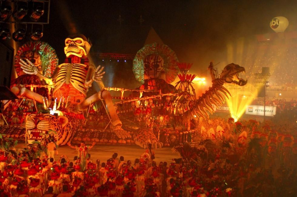 Parade, Festival, Boi Bumba, Night, Parintins, The Amazon, Brazil