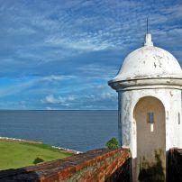 The Sao Jose de Macapa Fortress, Macapa, The Amazon, Brazil