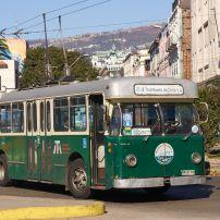 Bus, Valparaiso, Chile
