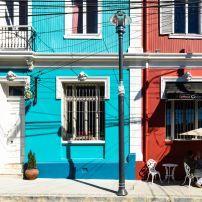 Houses, Valparaiso Historic Centre, Valparaiso, Chile