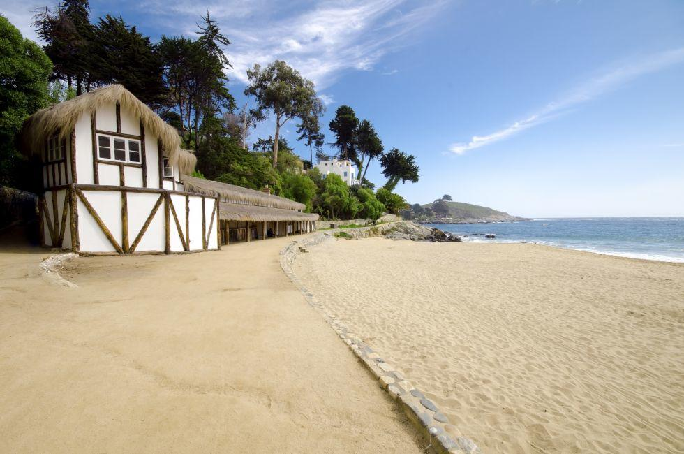 Beach House, Beach, Zapallar, Chile