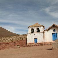 Church, Altiplano, Chile