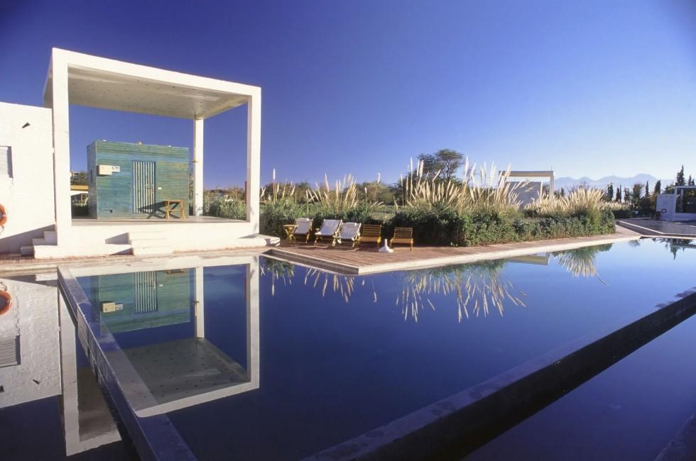 Swimming Pool; Explora Hotel, San Pedro de Atacama Desert, El Norte Grande, Chile