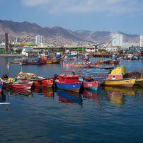 Boats, Harbor, Antofagasta, Chile