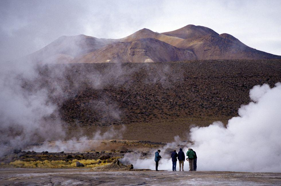 Tatio geyser atacama, Chile