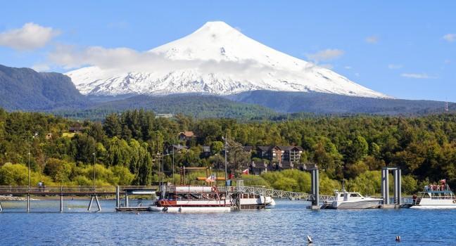 Villa Rica Lake Chile