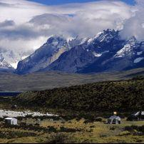 Entrance to Torres Del Paine, Chile , South America