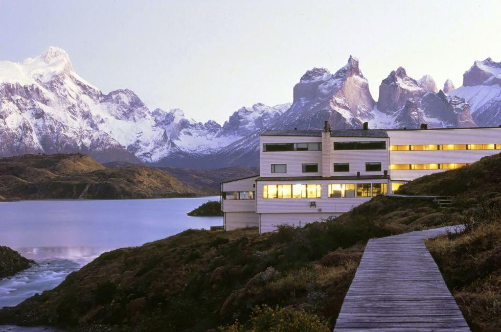 Explora Hotel, Torres del Paine National Park,  Patagonia, Chile